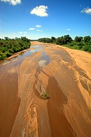 Shingwedzi River,Kruger Nationalpark,South Africa,Africa,riverbed
