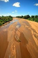 Shingwedzi River,Kruger Nationalpark,South Africa,Africa,riverbed