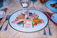 Rouen France Seafood Salad