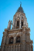 Cathedral Tower in Toledo, Spain
