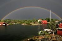 Rainbow, Nävelsö, Småland, Sweden