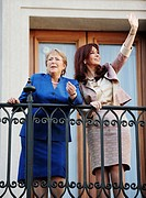 President of Argentina Cristina Fernandez de Kirchner and President of Chile Michelle Bachelet, Santiago de Chile, Chile (October 29th, 2009)