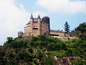 Castle on the Rhin river, Rüdesheim, Germany