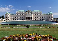 Upper Belvedere Palace and Garden, Vienna, Austria