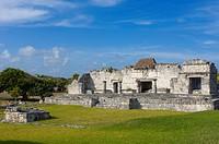 Mayan ruins of Tulum, 1200-1524, Tulum, Quintana Roo state, Mayan Riviera, Yucatan Peninsula, Mexico
