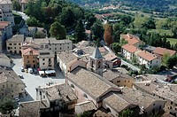 Pennabilli (Rimini, Italy), the old town