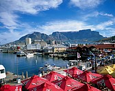 Promenade at the waterfront in Cape Town city, South Africa, Africa