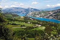 Embrun Lake, Haute Alpes, Provence, France, Europe