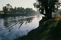 Image of the Yarkon river