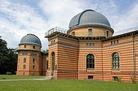 Domed building, Michelson Haus house, Potsdam Institute for Climate Impact Research, PIK, Potsdam, Brandenburg, Germany, Europe
