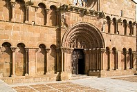 Romanesque convent church of Santo Domingo, Soria, Castilla-Leon, Spain