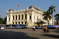 French colonial Opera House, Hanoi, Northern Vietnam, Asia