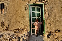 Child, Bahariya Oasis, Egyptian Sahara, Egypt, Africa