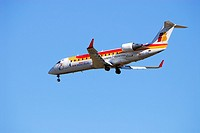 Airplane.Iberia airline