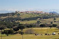 Guijo de Ávila. Salamanca province. Castilla y León. Spain