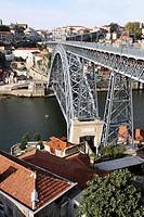 Puente Luis I, S. XIX, Oporto - Portugal.