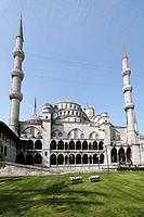 Blue Mosque, Sultan Ahmet Camii, Sultanahmet, Istanbul, Turkey