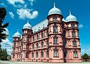 University of music, music conservatory, Gottesaue Palace, Renaissance chateau, Karlsruhe, Baden-Wuerttemberg, Germany, Europe