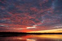 sun set, USA, Florida, Everglades Np
