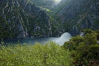 Calabazos reservoir, Narcea river, Asturias, Spain