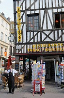 Old town, Rouen, Seine Maritime, Upper Normandy, France