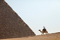 Pyramids of Giza. Giza. Cairo. Nile Valley. Egipt.