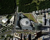 Potsdamer Platz, Sony_Centre, Daimler_Chrysler_Centre, Philharmonics, Germany, Berlin