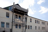 Headquarters of the Jack Wolfskin GmbH company in Idstein in the Taunus, Hesse, Germany, Europe