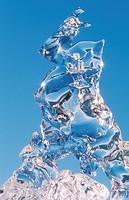 ice sculpture, Iceland, Joekulsarlon