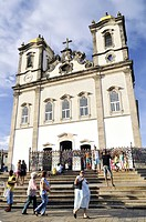 Church of Nossa Senhora do Bonfim, Salvador, Bahia, Brazil, South America
