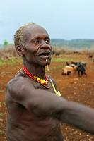 Toposa chieftain, Sudan
