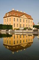 Friedrichschloesschen castle, baroque Garden Grosssedlitz, Dresden, Saxony, Germany