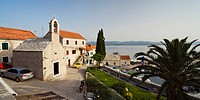 Church Sv. Ante in Bol, Brac Island, Adriatic Sea, Mediterranean, Dalmatia, Croatia, Europe