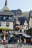 Beilstein on the river Moselle, Rhineland_Palatinate, Germany, Europe