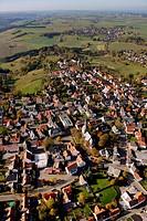 Aerial photo, Ruethen, Altenruethen, Kreis Soest, Soester Boerde, South Westphalia, North Rhine-Westphalia, Germany, Europe