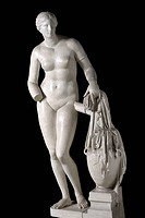 Aphrodite of Cnidus, about 350 BC, ancient Greek sculpture by Praxiteles