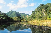 Wit river in the Zuurberg Mountains, South Africa, Addo Elephant National Park