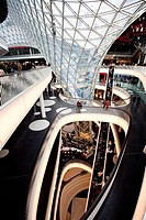 My Zeil, shopping and leisure centre on the Zeil shopping boulevard, Frankfurt, Hesse, Germany, Europe