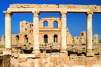 roman theater of Sabratha, Libya