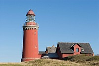 Bovbjerg Lighthouse, Denmark, Scandinavia, Europe