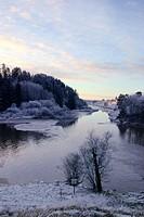 Aurajoki river, Finland, Lieto