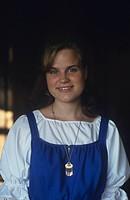 Guide wearing feresi clothing, Parppeinvaara