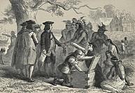 Penn´s Treaty With The Indians, Felix Octavius Carr Darley, 1822_1888