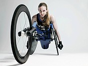 Female wheelchair athlete (thumbnail)