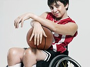 Junior wheelchair basketball player (thumbnail)