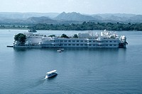 Lake Palace Hotel, India, Rajasthan, Udaipur