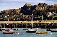 Sailboats in Howth Harbour