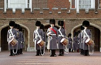 Royal Guards in London, England, Great Britain, Europe