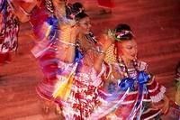 dancer at caribbean carneval, Trinidad and Tobago, Trinidad, Caribbean