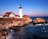 South Portland Head Lighhouse, USA, Maine